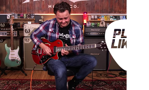 Play Like - the exclusive new Andertons Extra series